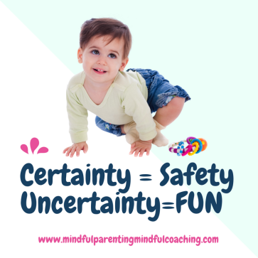 Certainty = SafetyUncertainty=Excitement (1)