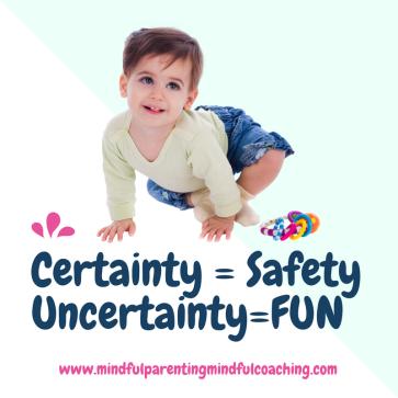 Certainty = SafetyUncertainty=Excitement (1)