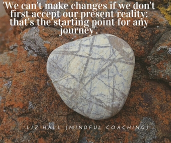 Liz Hall quote accept what is