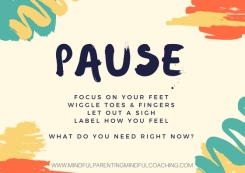 PAUSE cream background feet, toes etc