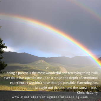 Take ACTIon with anxiety quote 2 rainbow